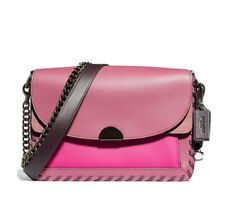 NWT GUARANTEED 100% AUTHENTIC COACH Dreamer  Bag In Colorblock With Whipstitch