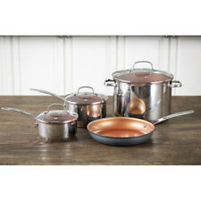 NuWave 7 Piece Duralon Premium Cookware Set - Induction and Oven Ready