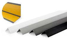 1 METRE SELF-ADHESIVE PLASTIC PVC CORNER 90 DEGREE ANGLE TRIM VARIOUS SIZES
