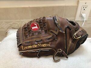 "Louisville Slugger Big Daddy LPS9F 13.25"" Baseball Softball Glove Left Hand Thro"