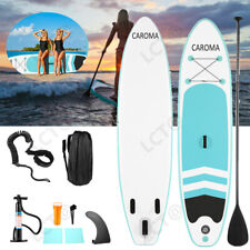 New listing 10' Inflatable Stand Up Paddle Board Sup Surfboard with complete kit 4'' thick