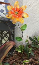 Metal Garden Decor 22� Sunflower Yard Art Pond Flower Lawn Ornament Stake Pick