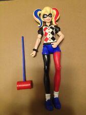 "DC Super Hero Girls Harley Quinn 6"" Action Figure Mattel"