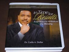 IT'S TIME FOR RESUTS! BY DR. CREFLO A. DOLLAR (4-CD SERIES) -- FREE SHIPPING!!!