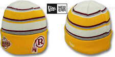 Redskins THROWBACK 'WINTER TRADITION' Knit Beanie Hats by New Era