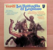 6700 120 Verdi La Battaglia Di Legnano Ricciarelli Carreras Gardelli 2xLP NM