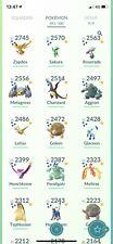 Account Pokemon Go - Super RARE Pokemon! 240+ SHINY and Legendaries