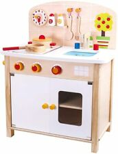 Girls Kids Wooden Play Kitchen Children's Play Set Standard Size Tooky Toy