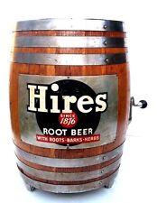 VTG Original Hires Root Beer Wood KEG Barrel Soda Fountain Dispenser Tap System