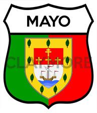 County Mayo Ireland car motorcycle sticker northern belfast Celtic flag