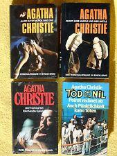 Sammlung - 4 x Agatha Christie - Miss Marple - Hecule Poirot - Krimi Paket ...