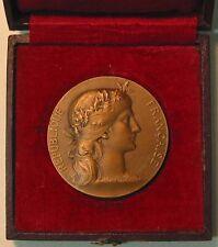 Art Nouveau Marianne /  Par Le Ministre de La Guerre / Bronze Medal byDubois M51