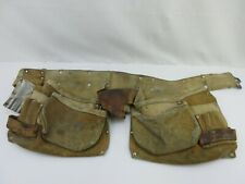 Nicholas 427 Leather Construction Contractor Tool Belt with Pockets & Holders