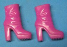 Barbie Shoes - Short Magenta Boots