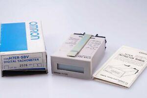 OMRON H7ER-SBV  digital Tachometer 5-30VDC