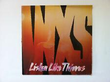 INXS Listen Like Thieves Disque VINYL LP 33 Tours Europe 1985
