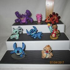 Lot Of 8 Lilo & Stitch PVC Figures Disney Store Exclusive Cousins