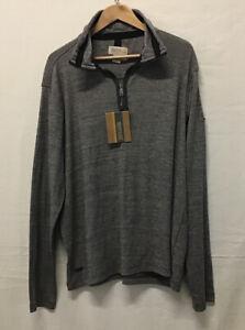 🚁 BNWT Regatta Grey Half Zip Pullover Jumper Top in  Size XL (/003)