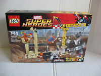 Lego Marvel Super Heroes 76037; Spider-Man, Sandman, Rhino, Iron Spider - NEU