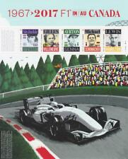Canada 2017 Souvenir Sheet #2992 Formula 1 in Canada - MNH