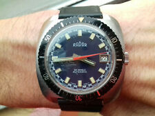 Radar DIVER 10 ATMOSPHERES AUTOMATIC 2467.6 VINTAGE COLLECTION SWISS NOS WATCH