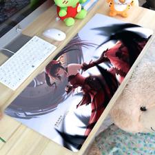 Anime DATE A LIVE Tokisaki Kurumi Keyboard GAME Mouse Pad Table Mat 70*40CM#GT-1
