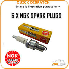 6 X NGK SPARK PLUGS FOR SAAB 9-3 MK2 2.8 2005-2007 PLFR6C-10G