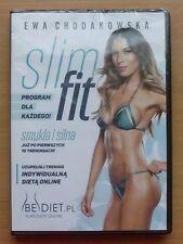 Ewa Chodakowska : SLIM FIT NOWE DVD Shipping Worldwide !!! FITNESS