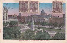 ARGENTINA - Buenos Aires - La Piramide, Plaza de Mayo