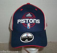 NEW - NBA - DETROIT PISTONS - ADJUSTABLE HAT - ADIDAS