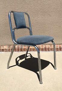 Vintage Mid Century Modern Duro Chrome Corp. Chair