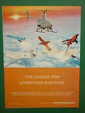 2/2010 PUB NORTHROP GRUMMAN VTUAV UAV DRONE GLOBAL HAWK FIREBEE CHUKAR III AD