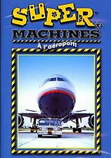 Super Machines (MIGHTY MACHINES)- A L'Aeroport (BRAND NEW DVD!) FRENCH LANGUAGE