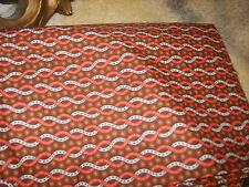 Country quilting chic sewing fabric material american wavy rope abstract print