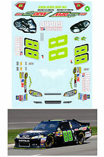 #88 Dale Earnhardt Jr 2012 Batman Decal 1/64 scale AFX TYCO Lifelike