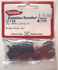 Vintage KYOSHO IF134 Brake Disk Set NEW 1200