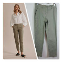 [ COUNTRY ROAD ] Womens Sage Twill Walk Pants  | Size AU 6 or US 2