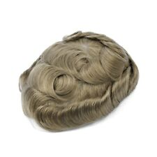 GEX Toupee Mens Hairpiece Bella Basement Wig Human Remy Hair Replacement Systems 20#