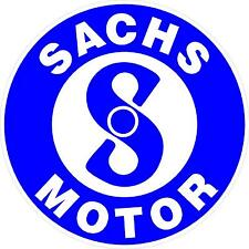"""#872 (1) 3.5"""" Sachs Motor Scooter Moped Motorbike Motorcycle Decal Sticker Lam."""