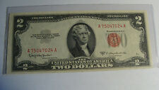 UNITED STATES  -  2 -TWO DOLLARS -- 1953 - PAPER CURRENCY - MINT UNCIRCULATED