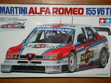 Tamiya 1/24 ALFA ROMEO 155 V6 Martini Model Car Kit #24176