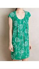 NWT - Green Floral Au Revoir Dress by Maeve Size 2