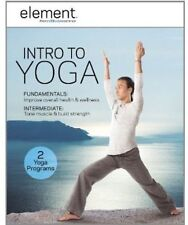 BRAND NEW IN PLASTIC ELEMENT DVD INTRO TO YOGA EXCERCISE MOVIE TV