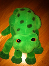 Plush Creation Inc Green Frog hand puppet glove Used