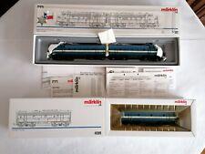 Märklin H0 3481 y 4081 Tren Diésel EMD F7 TEXAS Pacific Nuevo New OVP