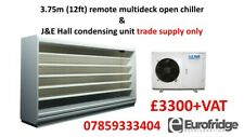 More details for new 3.75m remote multideck open dairy cabinet chiller + j&e hall supply only