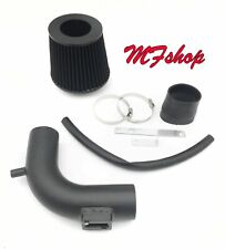 Coated Black For 2013-2019 Nissan Sentra 1.8L L4 Air Intake System Kit + Filter