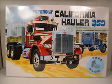 PETERBILT CALIFORNIA HAULER 359 AMT 1:25 SCALE PLASTIC MODEL TRUCK KIT