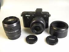 Nikon 1 V1 10.1MP Digikam. -Kit mit VR 10-30mm und 30-110 mm