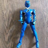"""Bandai Power Rangers Jungle Fury Blue RANGER 5.5"""" Figure 2007"""